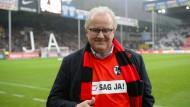 Fritz Keller sagt ja - unter anderem zu einem neuen Stadion in Freiburg