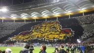 Die Adler aus Frankfurt zeigten gegen Lazio Rom ziemlich viel Biss.