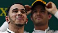 Wie aus Hamilton und Rosberg Streithähne wurden