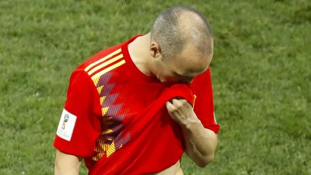 Der tränenreiche Abschied der Spanier