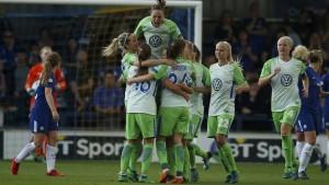 Wolfsburg auf dem Weg ins Finale