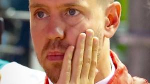 Vettel ohne Chance gegen Hamilton