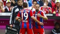 Arbeitsteilung: Ribery kommt für Götze ins Spiel - und trifft wie dieser schon zuvor