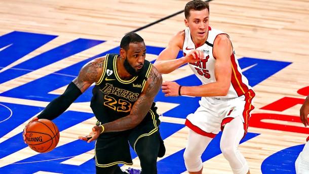 Lakers müssen in NBA-Finals in Spiel sechs