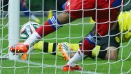 Stein des Anstoßes: Hummels nicht gegebenes Tor im DFB-Pokal-Finale 2014 gegen die Bayern