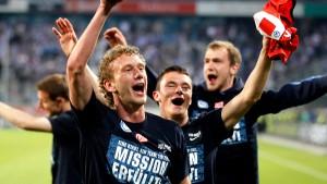Hertha BSC Berlin macht den Wiederaufstieg perfekt