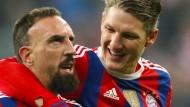 FC Bayern ohne Ribéry und Schweinsteiger