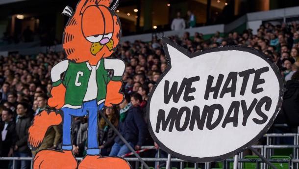 Montagsspiele in der Bundesliga bleiben