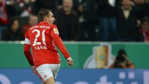 Die Bayern erfüllen ihre Pokalpflicht