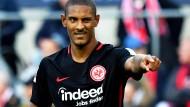 In Köln fällt der erste Treffer für den neuen Eintracht-Stürmer Haller.