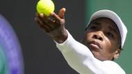Reichen zehn Tage Vorbereitung auf Wimbledon für Serena Williams?