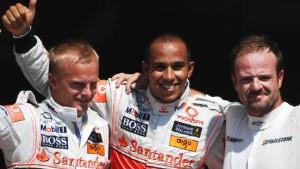 Hamilton auf der Pole - Vettel Vierter