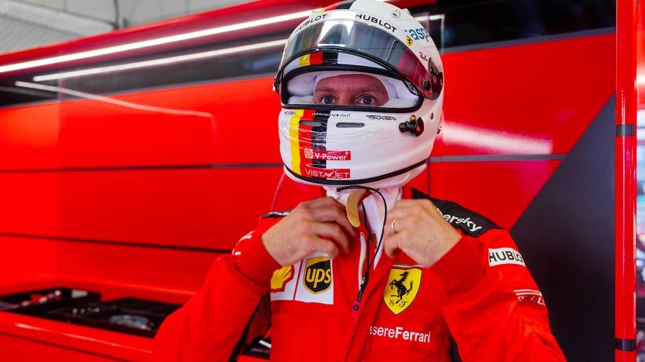 Ferrari muss er verlassen: Sebastian Vettel sucht noch nach einer Zukunftslösung.