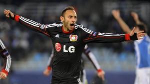 Leverkusen steht im Achtelfinale