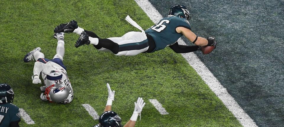 Super Bowl Philadelphia Eagles Siegen Durch Ersatz Quarterback