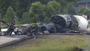 Flugzeug mit Rennfahrer Earnhardt abgestürzt
