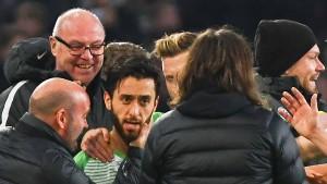 Mallis Flatterball sorgt für Wolfsburgs Glück