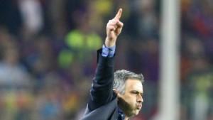 Mourinhos Mauer steht und führt nach Madrid