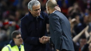 Guardiola muss Mourinho gratulieren
