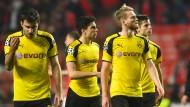 Die Dortmunder verließen Lissabon mit leeren Händen.