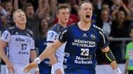 So sieht ein Sieger aus: Henrik Toft-Hansen und Flensburg jubeln.