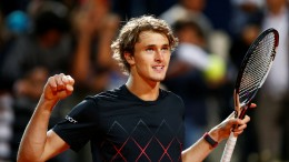 Zverev wieder im Tennis-Finale von Rom