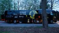 Der Dortmunder Bus mit der Mannschaft wurde Opfer eines Anschlags.