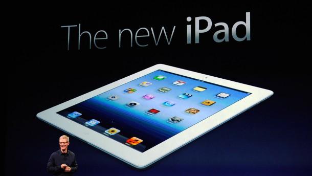 """Auf den ersten Blick ist das """"neue iPad"""" von seinem Vorgänger nicht zu unterscheiden - anders ist es"""