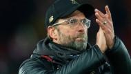 Und jetzt kommen die Bayern: Liverpool-Trainer Klopp