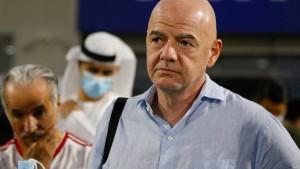 Kritik an Auftritt von Fifa-Chef in saudischem Video