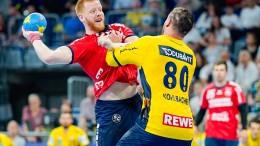 Flensburg gewinnt Spitzenspiel in Mannheim