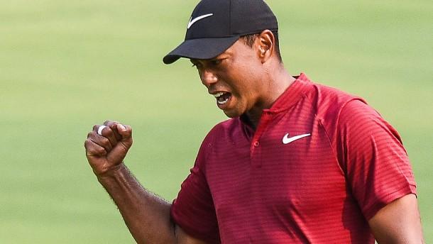 Tiger Woods ist wieder da – und wie!