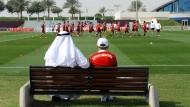 Die Bayern reisen im Winter gerne nach Qatar ins Trainingslager.