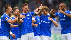 Verrücktes Spiel in Darmstadt