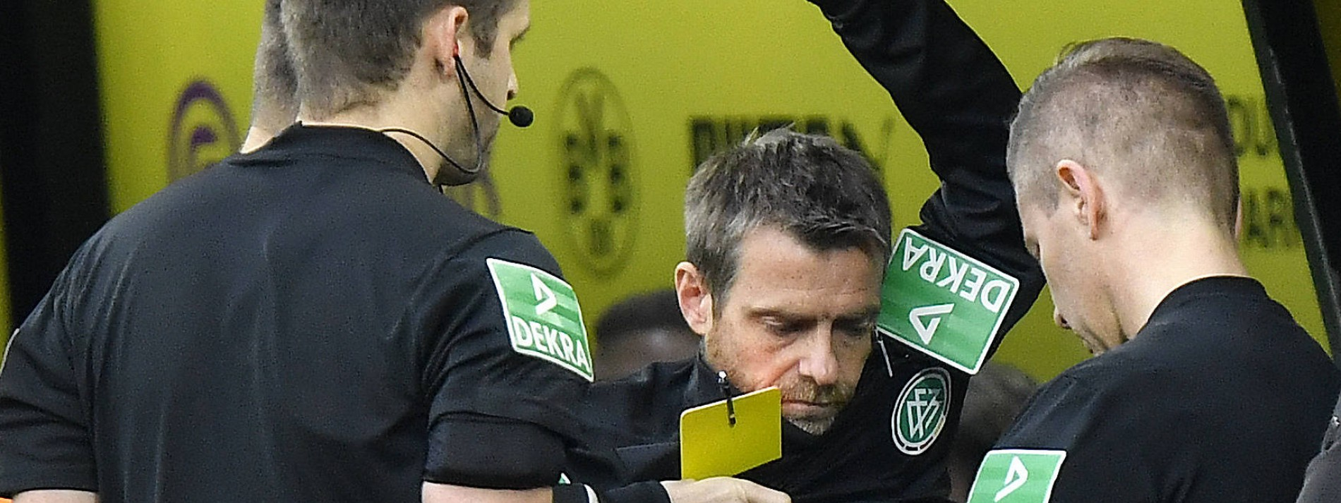 Schiedsrichter-Rochade in Dortmund