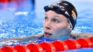 Bus bringt Schwimmer ins Leichtathletik-Stadion