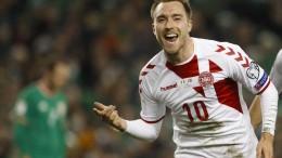 Dänemark qualifiziert sich für Fußball-WM
