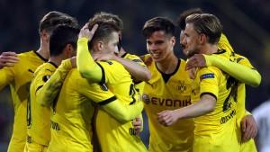 Große Dortmunder Fußball-Kunst