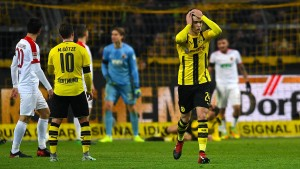 Dortmunder Rückschlag