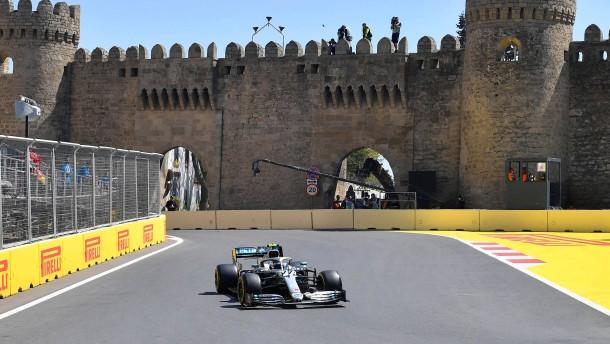 Bottas sichert sich Pole-Position