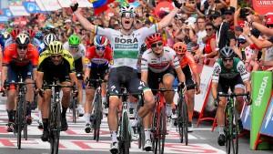 Bennett gewinnt dritte Vuelta-Etappe