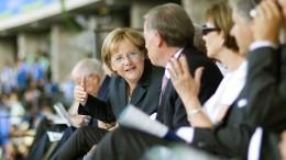 Merkel kontert Kritik der Leichtathleten