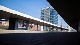 Bahnverkehr in Duisburg nach Randale eingestellt