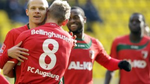 Siege für Augsburg und Duisburg