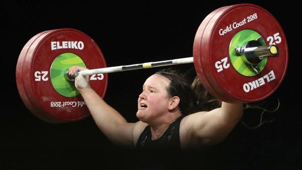 Die erste Transgender-Athletin bei Olympia