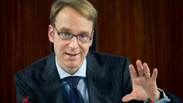 """""""Die fiskalische Klippe zeigt bereits jetzt Auswirkungen auf die US-Konjunktur"""": Bundesbank-Präsiden"""