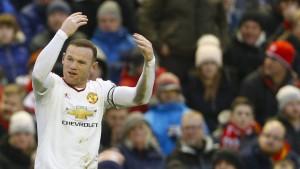 Rooney trifft gegen Klopp