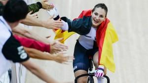 Bahnrad-Olympiasiegerin Vogel erleidet schwere Wirbelsäulenverletzung
