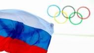 Weht die russische Fahne auch bei Olympia 2016 in Rio?