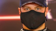 Valtteri Bottas hates hinter Mercedes-Star Lewis Hamilton nicht leicht.